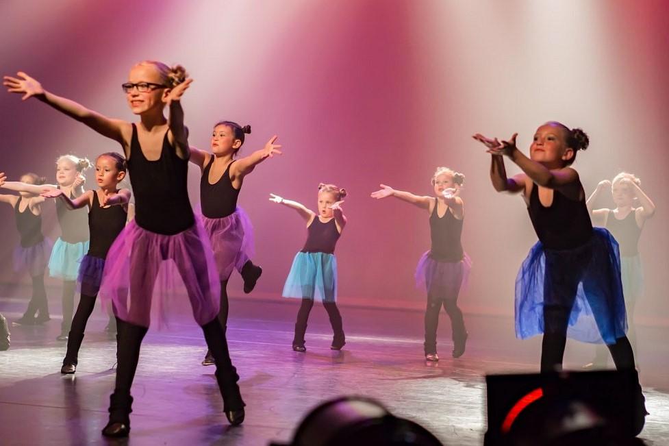 Dansles Groep 3,4,5 van het basisonderwijs